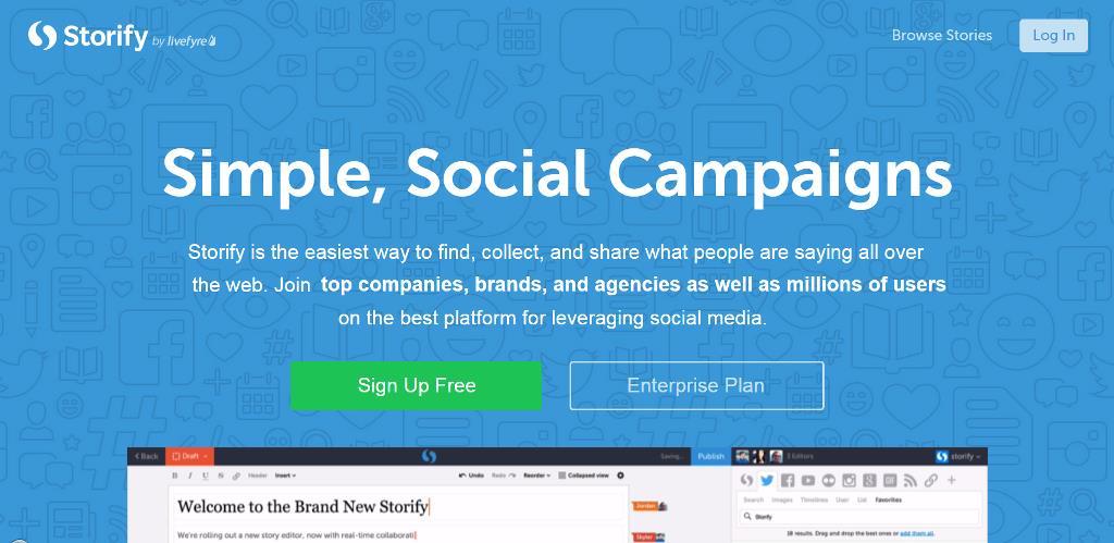 Storify. Gestire i contenuti e raccontare una storia attraverso i social.