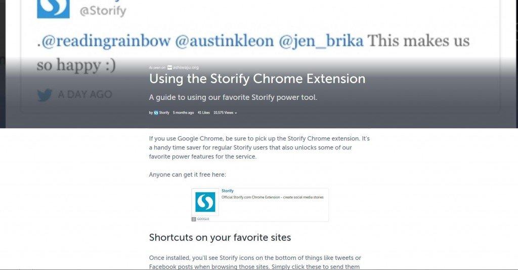 L'estensione per Chrome che sostituisce il bookmarklet delle versioni precedenti