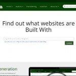 BuiltWith. Trovare tutti i software di cui è composto un sito