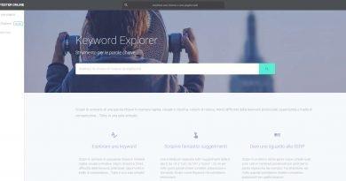 Keyword Explorer. Il nuovo tool per analisi delle parole chiave della Seo Tester Online