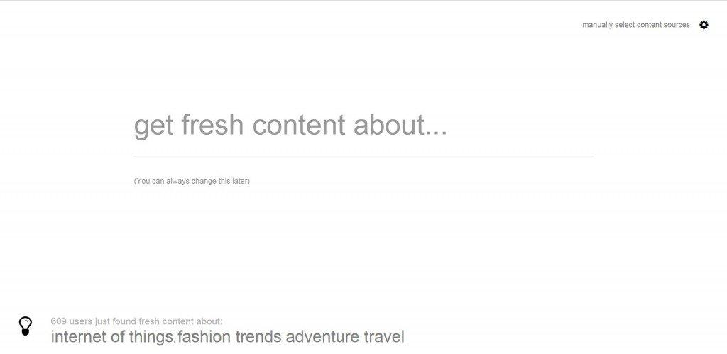 La ricerca automatica di contenuti per il nostro giornale online