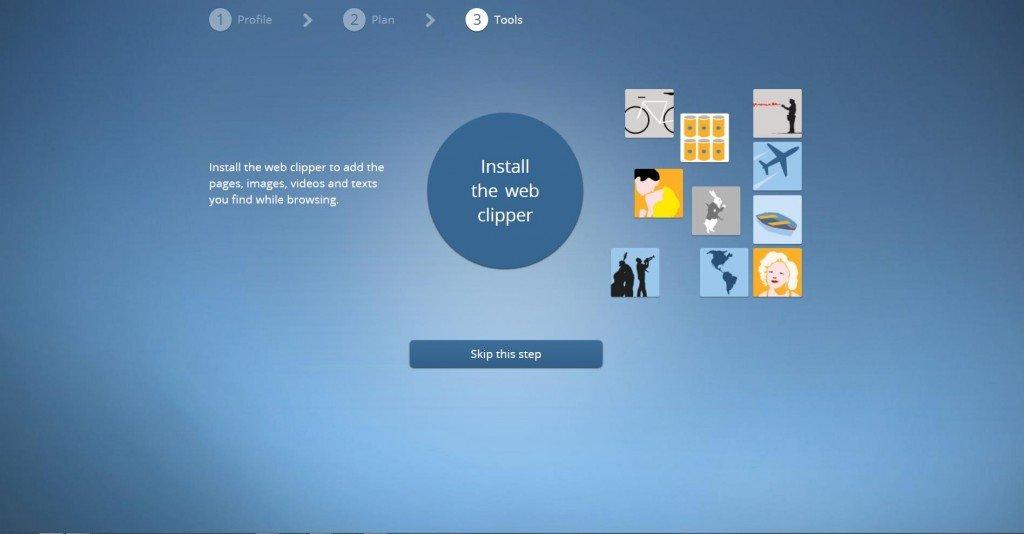 Web Clipper, l'estensione di Pearltrees per browser