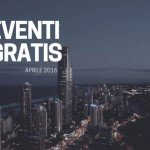 Eventi gratis. Aprile 2016