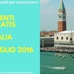 Eventi gratis in Italia. Luglio 2016